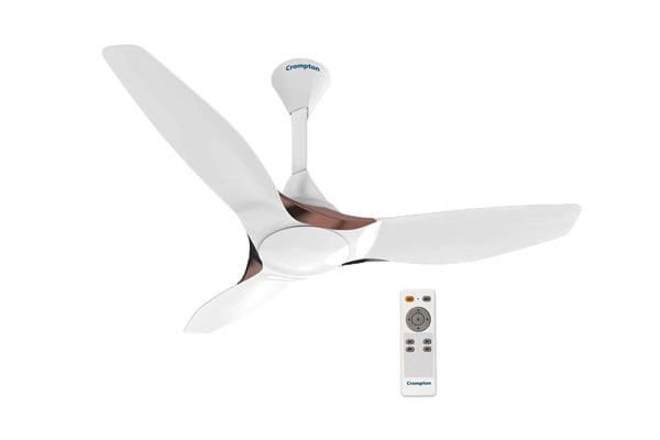 Crompton Silent Pro Enso 1225 Mm Activ Bldc Anti Dust Ceiling Fan With Remote 1613746433269