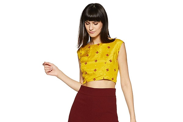 2486e3a88d0cd6 Stunning Crop Tops in India (2019)
