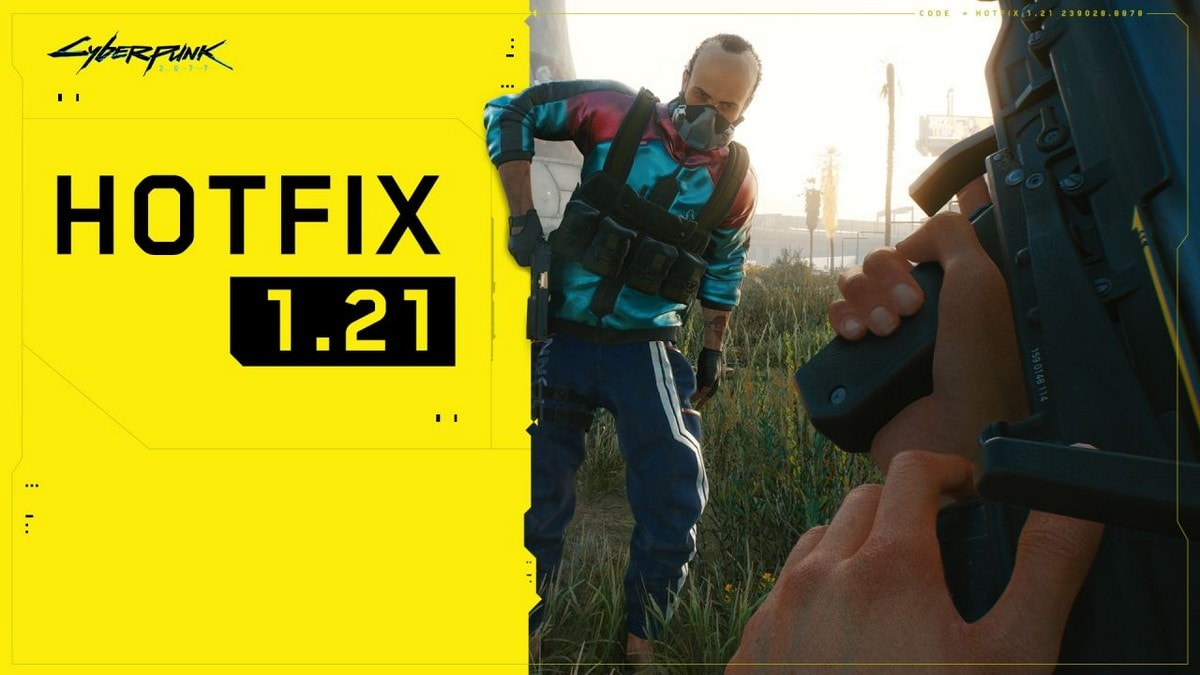Cyberpunk 2077 Gets Long List of Fixes, Stability Improvements With Hotfix 1.21 - Gadgets 360