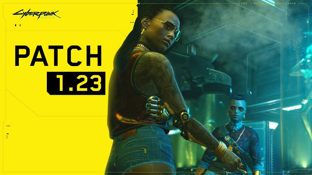 Cyberpunk 2077 Patch 1.23 Brings More Fixes and Performance Improvements