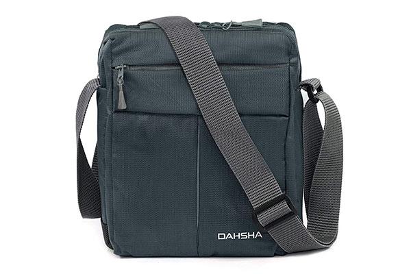 DAHSHA Nylon Padded Cross Body Messenger Sling Bag 1613155168325