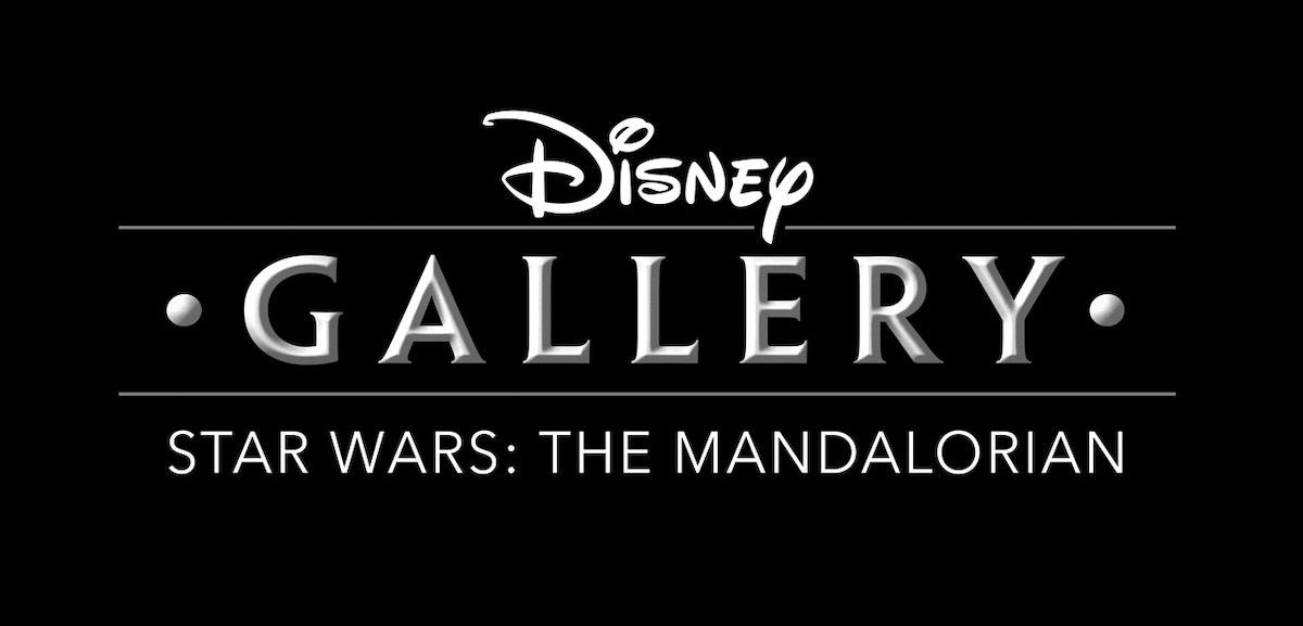 DISNEY GALLERY logo the mandalorian The Mandalorian Disney Gallery