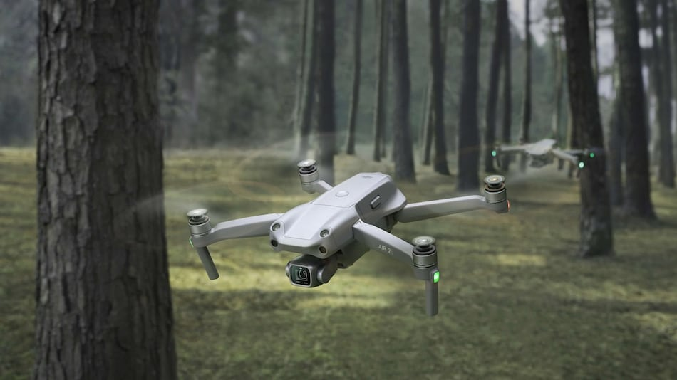 DJI Air 2S With 31-Minute Flight Time, 1-inch CMOS Sensor, Up to 5.4K Recording Capability Launched