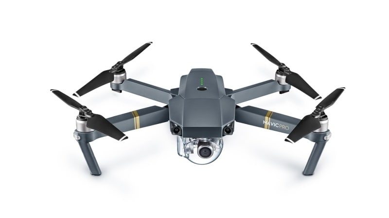 DJI Mavic Pro Foldable Drone Launched at $999, Takes on GoPro's Karma