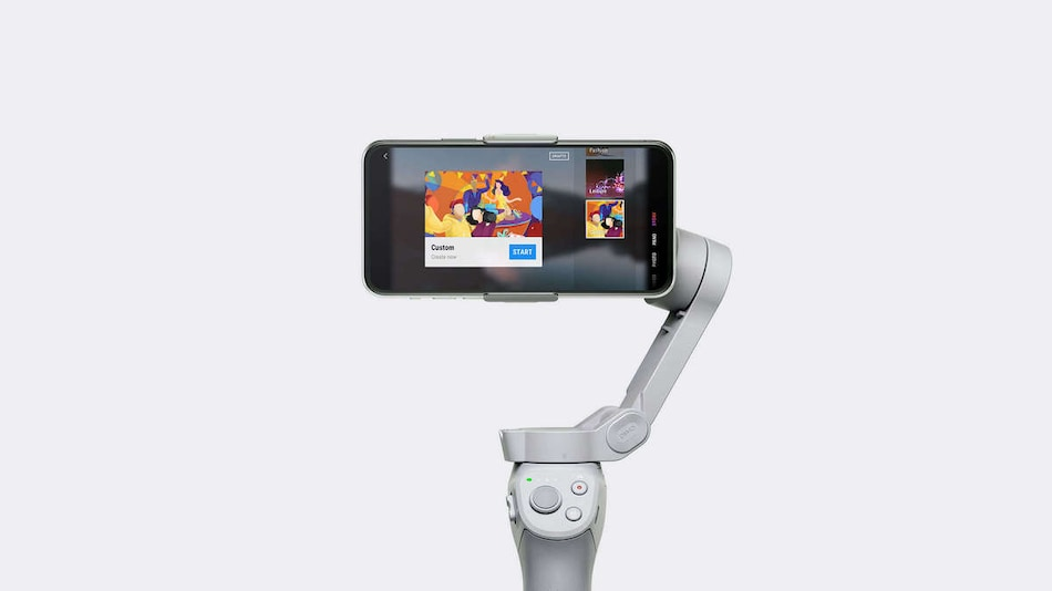 DJI Osmo Mobile 4 With Magnetic Mount, Gesture Control Launched