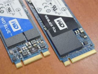 WD Black PCIe and WD Blue SSD Review
