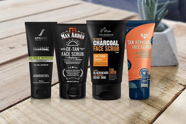 Best De-Tan Scrubs for Men, Exfoliate And Scrub Away For A Brighter Skin