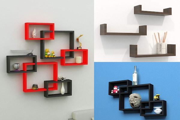 Floating Wall Shelves: Say No To Clunky Hardware Or Brackets