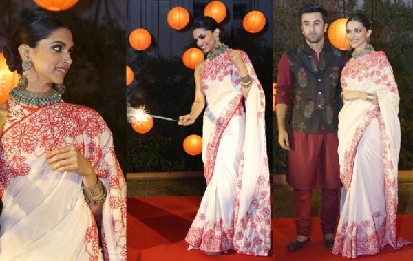 Deepika Padukone Saree
