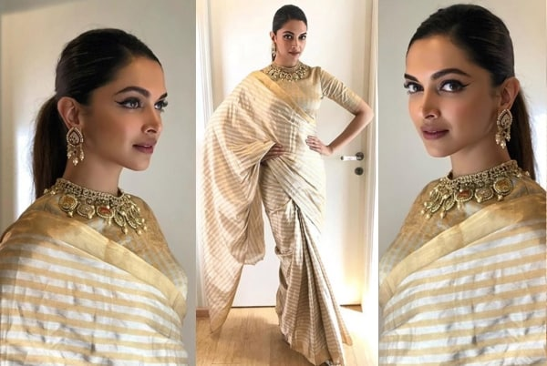 Have deepika padukone saree agree, amusing