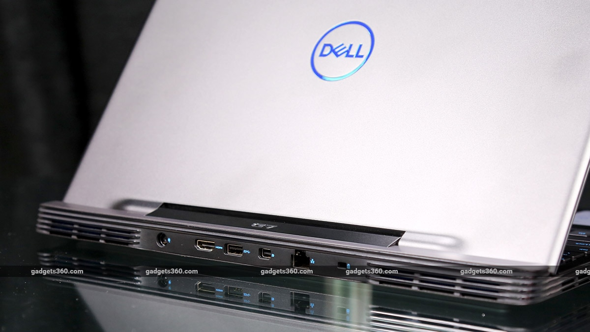 Dell G7 15 7590 rear ports ndtv dell
