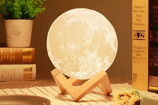 DesiDiya 3D 7 Color Changing Moon Night Lamp 1 1611682256617
