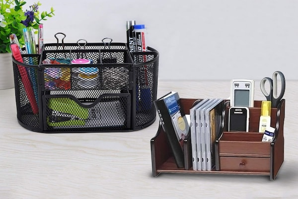 Desk Organisers For A Less Chaotic Spot