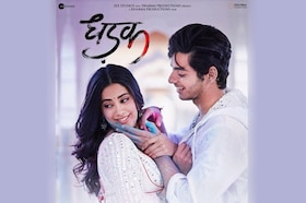 Dhadak Title Track is OUT, Take a look at the Sizzling Chemistry of the Duo