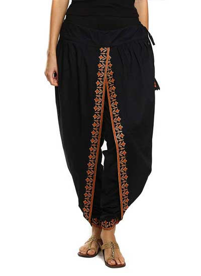 Dhoti Salwars 9Rasa Women Cotton Dhoti Pants 1558428175298