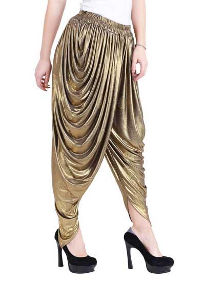 Dhoti Salwars Ankita Polyester Patialas 1558600322385