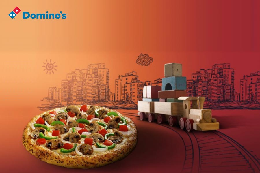 Cheesy Domino's Meals on Wheels