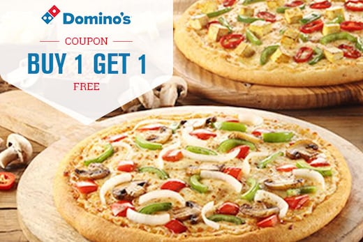 Dominos Pizza Offers : Order Pizza Online & Get Upto 50% OFF