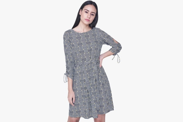 Fashion Trend 2018, AND Printed Skater Dress