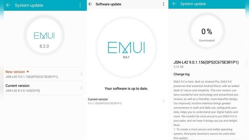 Honor 8X commence à recevoir la mise à jour globale stable d'EMUI 9.0.1 pour Android basée sur le camembert