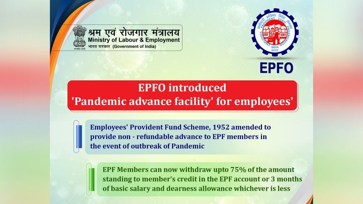 EPFO Website Down Soon After Government Announces Corona Relief Measures