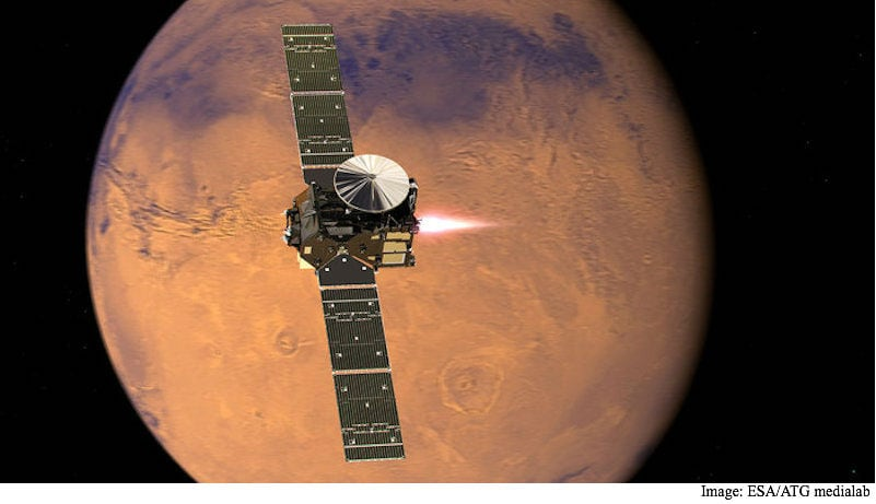 Schiaparelli Lander Reaches Mars Surface but Final Fate Uncertain