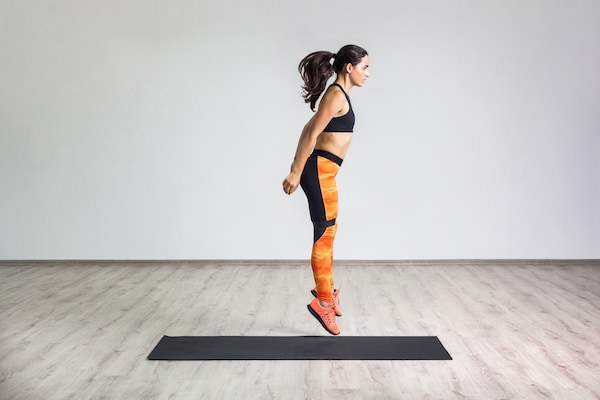 Effective Ten Minute Cardio and Leg Workout Exercises