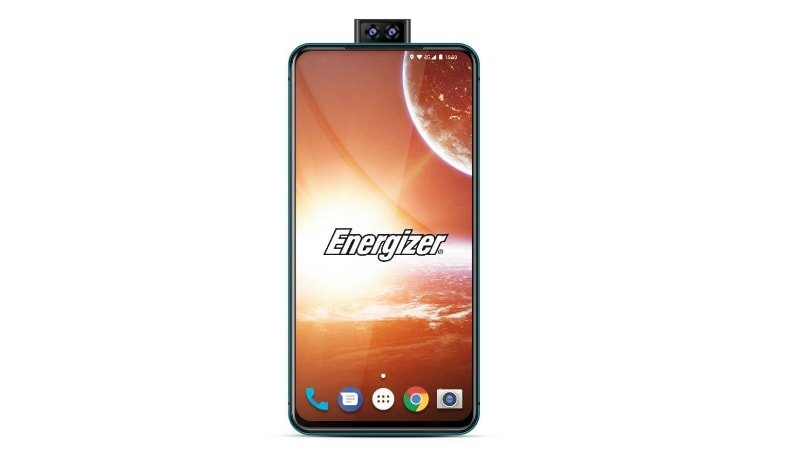 Energizer Power Max P18K Pop With 18,000mAh Battery, Dual Pop-Up Selfie Cameras to Launch at MWC 2019