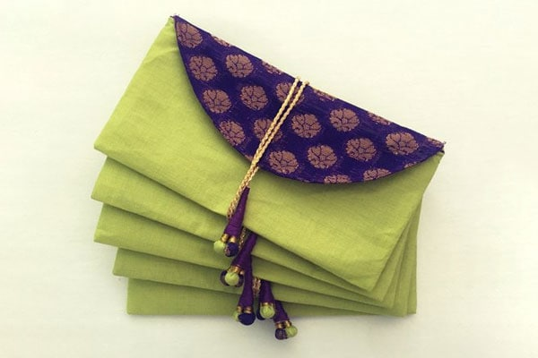 Handmade Paper Envelopes, Kolor Fish Envelopes