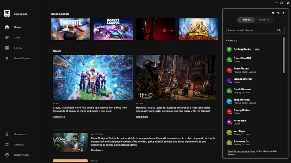Epic Games Shares Early Look at Party System, Reveals Plans for Improving Social Experience in Its Store