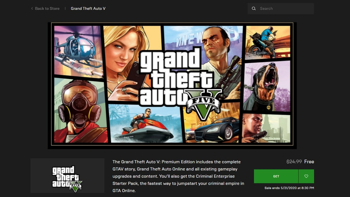 "GTA Online Services Went Down Due to ""Extremely High Player Volumes"" Caused by Epic Store Sale"