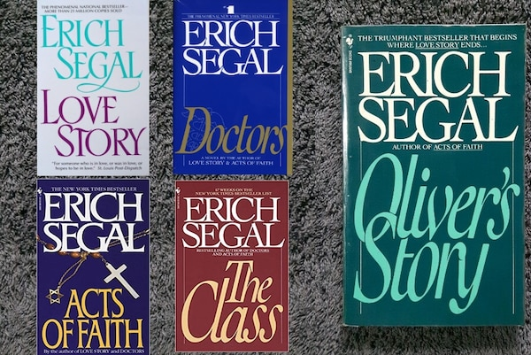 Erich Segal Books You Must In Have Your Library!