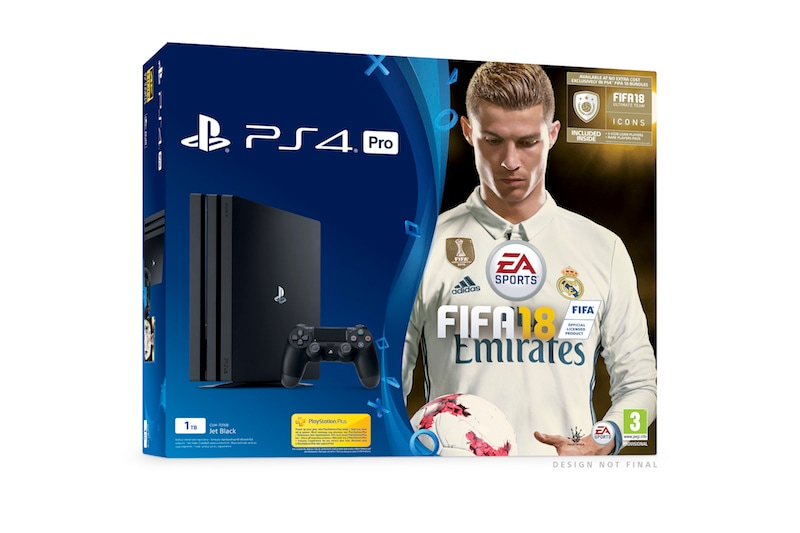 FIFA 18 PS4 and PS4 Pro Bundles Announced