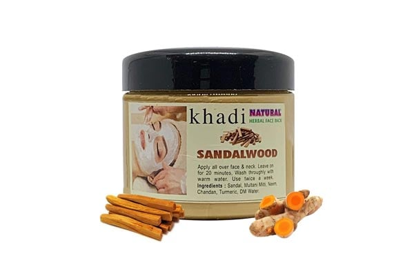 The EnQ Khadi Natural Herbal Sandalwood Face Pack
