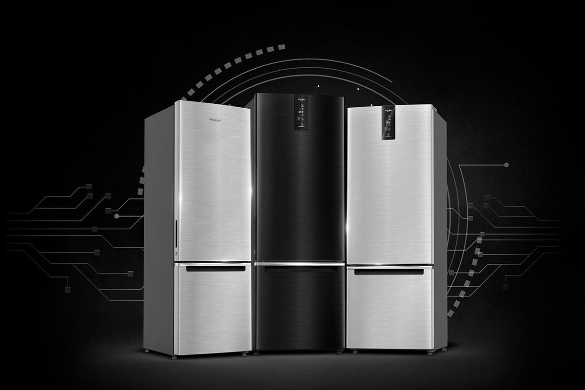 Bringing Cutting Edge Technology and Premium Aesthetics in One Package – Whirlpool IntelliFresh Pro Bottom Mount Refrigerator