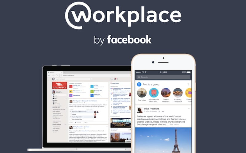 Facebook to Offer Free Version of Workplace, Its Team Collaboration Tool