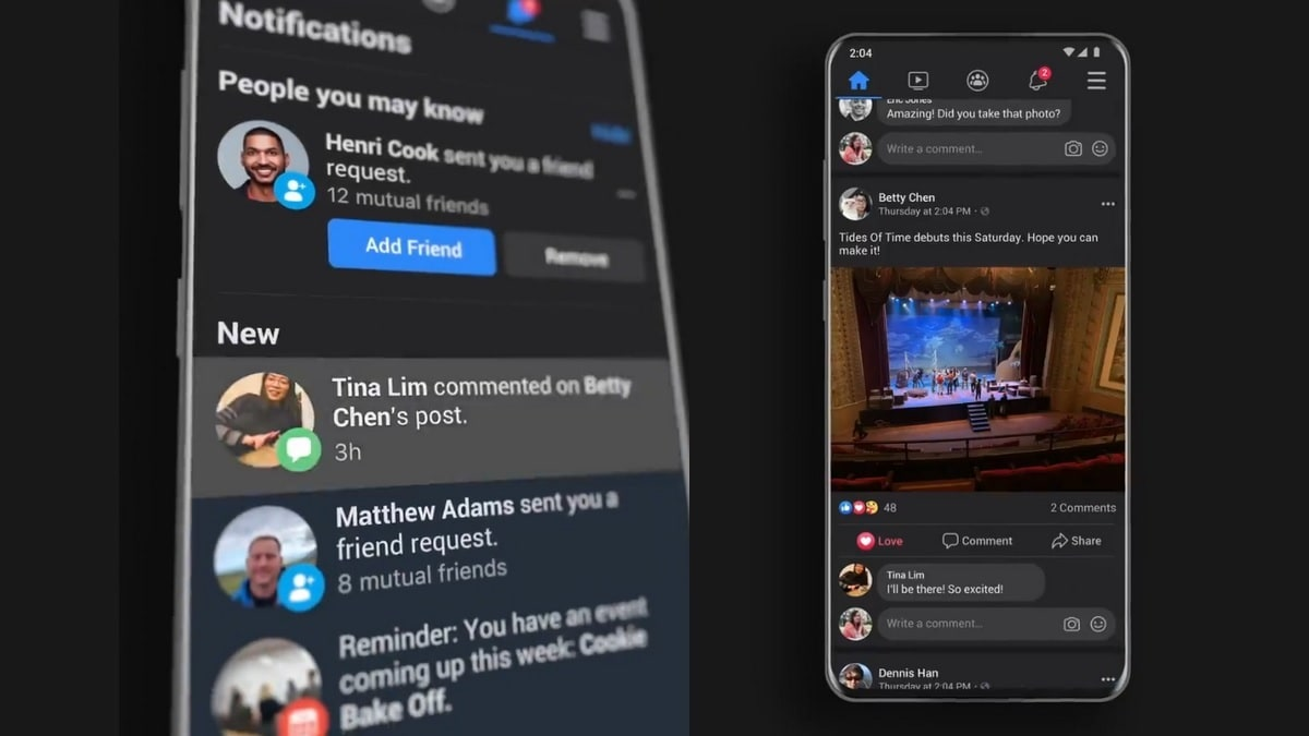 Facebook Dark Mode Finally Rolling Out On App As Public Testing Begins Technology News Facebook is the official android app for the iconic original social network par excellence. facebook dark mode finally rolling out