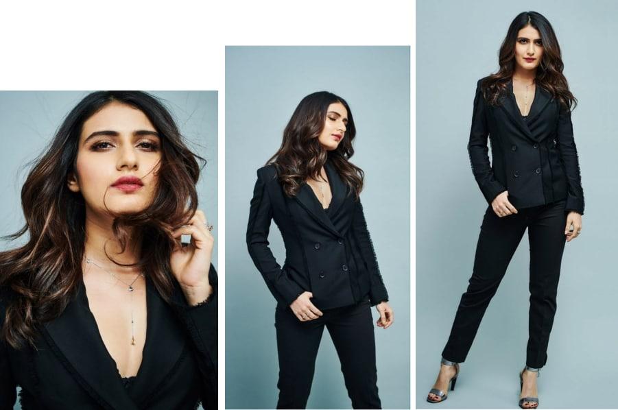 Ace The Monochrome Look Like Fatima Sana Shaikh
