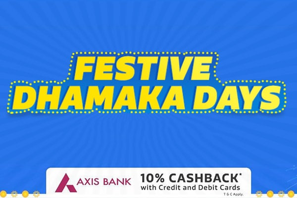 Flipkart Festive Dhamaka Days: Shop Exciting Diwali Offers 5th-8th Oct 2017, Get Ready to Celebrate Diwali in Style