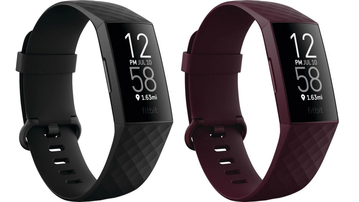 Fitbit Charge 4 Leaked Images Show Black and Rosewood Colour Options, Design Similar to Charge 3