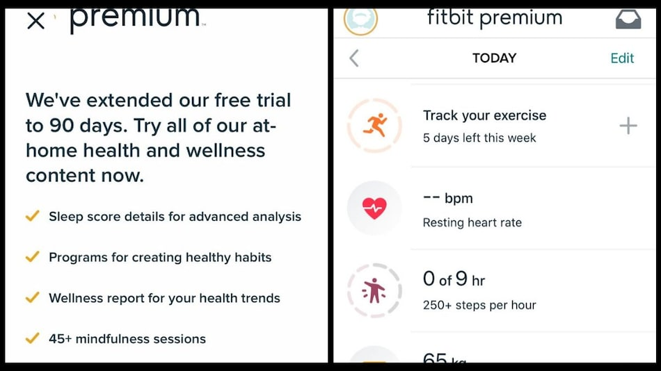 Fitbit Premium Trial Extended to 90 Days for New Users Amid Coronavirus Pandemic
