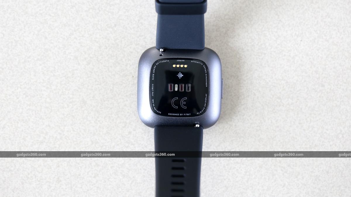 Fitbit Versa 2 heart rate sensor gadgets 360 Fitbit Versa 2