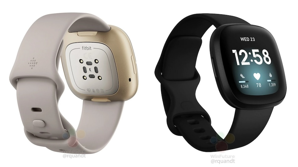 Fitbit Versa 3, Fitbit Sense Smartwatch Images Leaked, Tipped to Come With Voice Controls