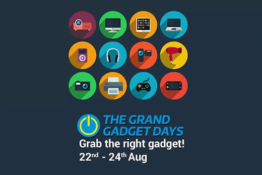 The Grand Gadget Days Are Here at your Flipkart Store