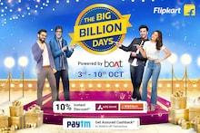 Flipkart Big Billion Days 2021 Sale Offers Up to 90% OFF