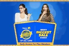 Flipkart Big Billion Days Sale Offers: Early Access For Flipkart Plus Members