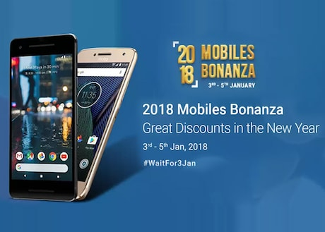 Mobile Bonanza On Premium Phones : Flipkart New Year Offers on Mobiles , The First Blockbuster Sales Expected in 2018