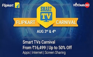 The Flipkart Smart TV Carnival : Buy A Smart TV at A Smart Price with Offers and Discounts