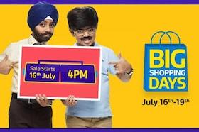 Flipkart Big Shopping Days : From 16th July-19th July 2018