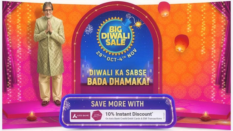 Flipkart Big Diwali Sale Starts October 29, Brings Discounts on Smartphones, TVs, and More